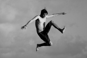 ALEX B&W JUMPING
