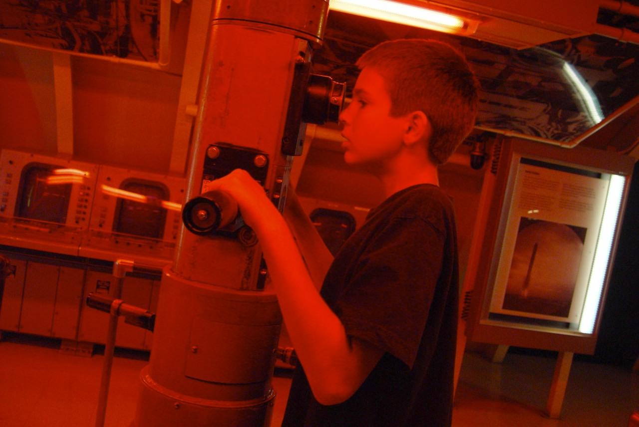 ALEX, PERISCOPE, SCIENCE MUSEUM, CHICAGO